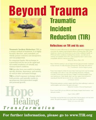 TIR Poster Presentation